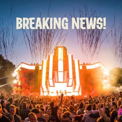 Breaking news: op zaterdag ook de (outdoor)mainstage open!